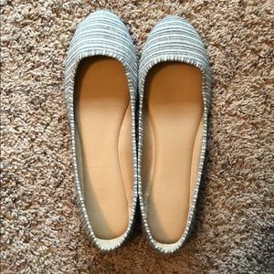Universal Thread Striped Slip on Shoes